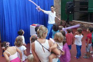 Mago para cumpleaños infantiles en Alicante