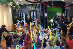 La fiesta de los Reyes Magos llena la APC