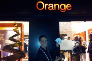 Inauguración de la Tienda de Orange en Ibi