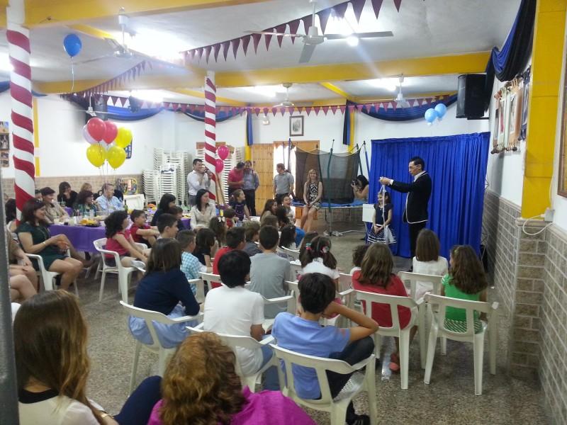 mago comuniones crevillente - comparsa cristiana castellano leonesa